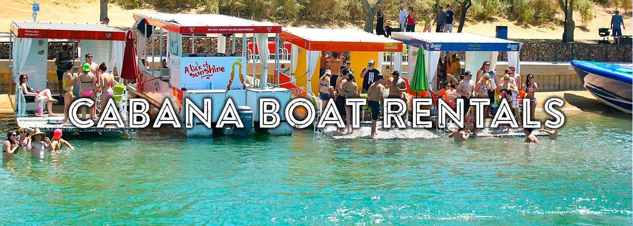 Lake Havasu Cabana Boat Rentals Go Lake Havasu
